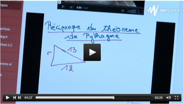 A Belgium school using tablets to teach mathematics